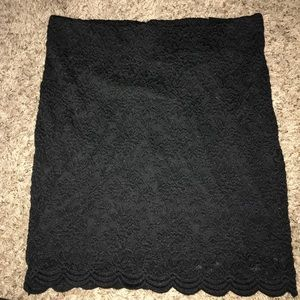 Never can go wrong with a mini black skirt