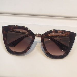 Prada spr53s cinema evolution cat eye sunglasses