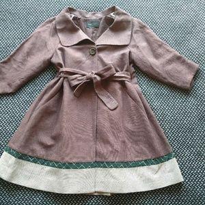Vintage BCBGMAXAZRIA Swing Trapeze Coat M L