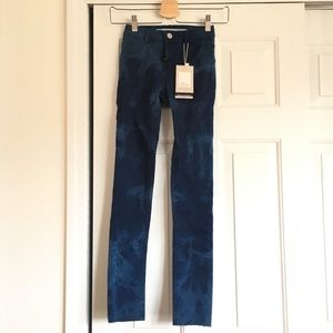Marble Pattern Legging Jeans