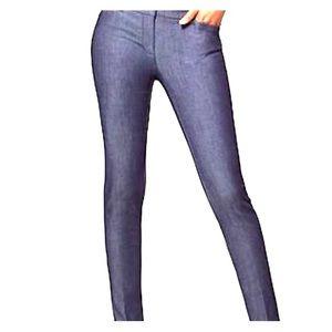 New York & company Audrey pant slim leg navy 4