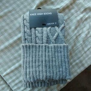 New knee high socks