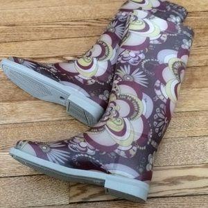 Emilio Pucci tall rain boots!