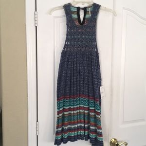 NWT Free People knit Rare Heart tunic/dress