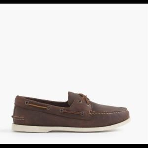 Sperrys Women's brown leather top-siders