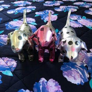 PINK Victoria's Secret Hologram Polkadot Dogs
