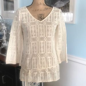 Great lucky brand top. XS. Cream color. Perfect
