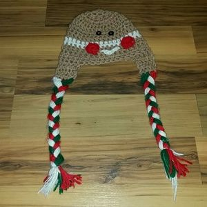 Gingerbread Christmas toboggan for baby.