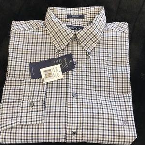 Men's Nautica Small Plaid Sport or Dress Shirt