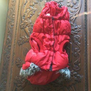 Red Hood Pet Jacket