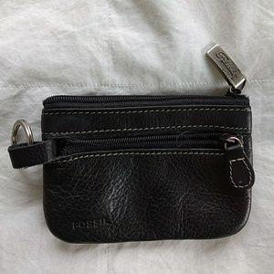 Fossil leather ID and money holder