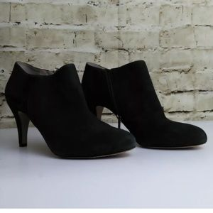 Vince Camuto Black Suede Booties 9M