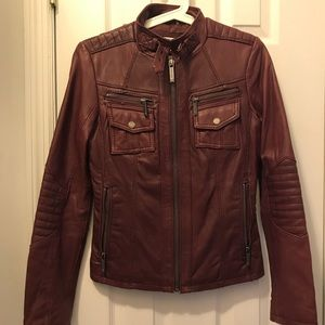 Michael Kors 100% Leather Jacket