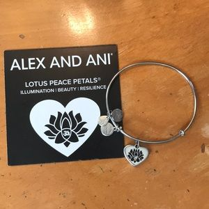 Lotus peace petals Alex and ani
