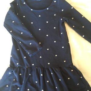 HNM basic girls long sleeve dress