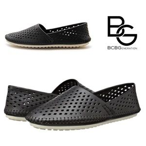 🎁SALE🎁BCBGeneration Perforated Leather Flats 8