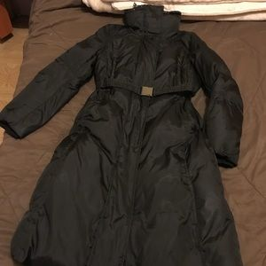 Marc New York black coat.