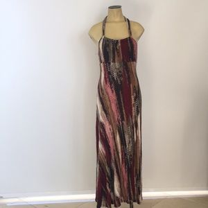 Maxi dress multi color