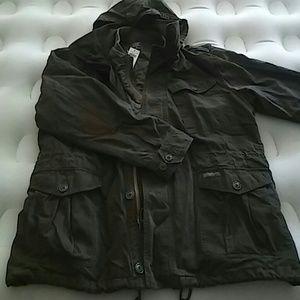 Abercrombie military jacket size XL