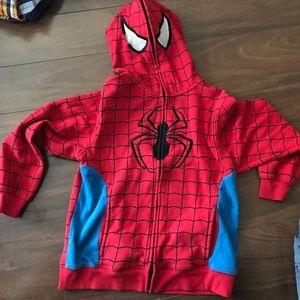 Boy XL spiderman hoodie