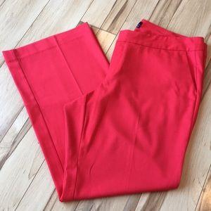 Gorgeous red slacks!