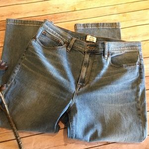 J Crew Billie Demi-Boot Crop, Size 32p