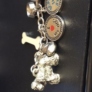 Adorable cocker spaniel keychain