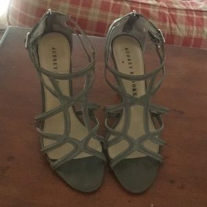 Strappy Grey Sandal