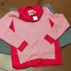 Cute Cowlneck Calvin Klein Sweater