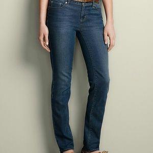 Eddie Bauer Slightly Curvy Elysian Slim Jeans