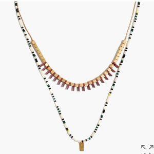 Madewell Radiate Necklace Set