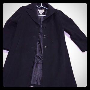 Black Marvin Richards pea coat