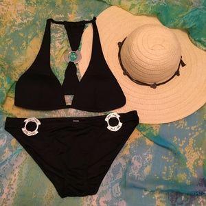 VS Black Jeweled Bikini