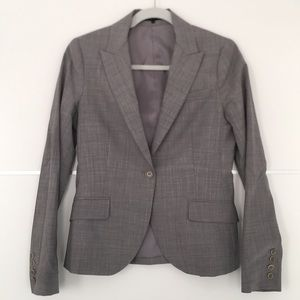 WOMENS Theory single breasted blazer
