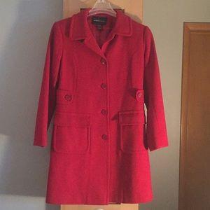 Red Winter Coat!