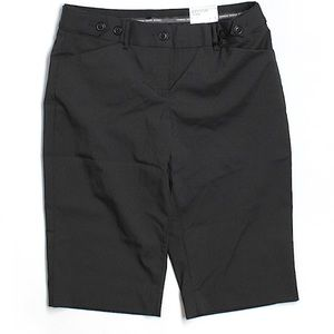 Editor black size 2 NWT editor city shorts