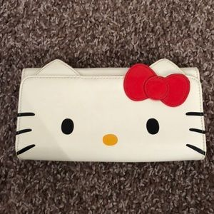Hello Kitty Patent Leather Wallet