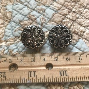 Large Brighton clip on earrings