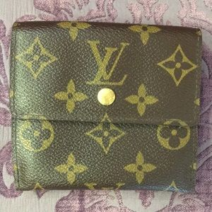 Mint condition Louis Vuitton wallet