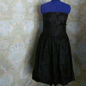 Y2K Ann Taylor Bubble Skirt/ Strapless Dress - 12