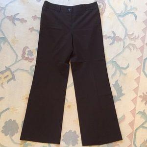 Ann Taylor Loft chocolate brown pants