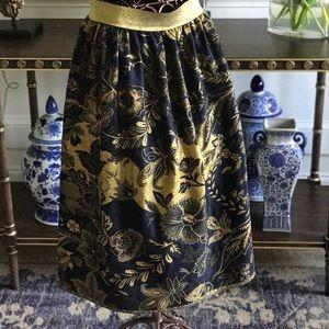 Beautiful handmade pashmina midi skirt!  $50