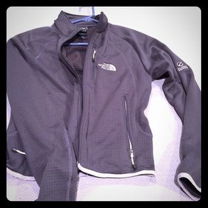 Small grey flight series north face jacket