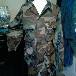 Army utility shirt