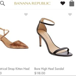 Banana Republic Heel Sandal