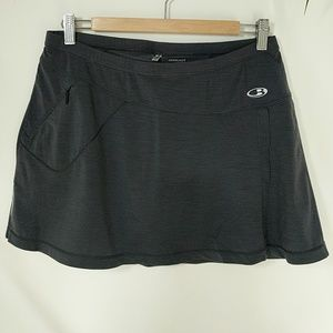 Icebreaker Running Swift Skort NWOT SZ M Gray/Navy