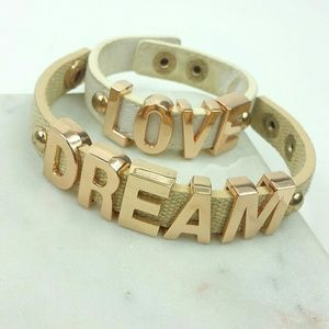 Bcbg Generation message bracelet dream love lot 2