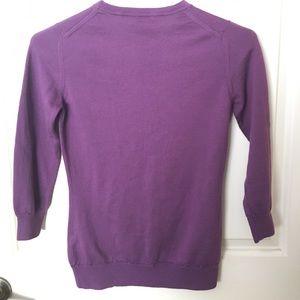 Burberry Sweaters - Burberry Purple merino wool sweater