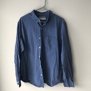 Men's jean Button up