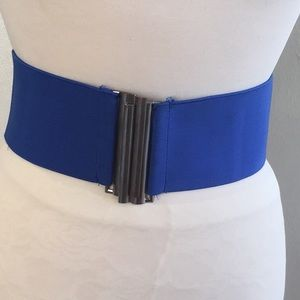 Vintage Royal Blue Belt